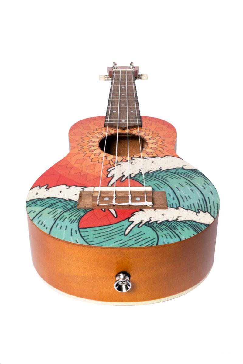 Ukulele Orange Wave Soprano